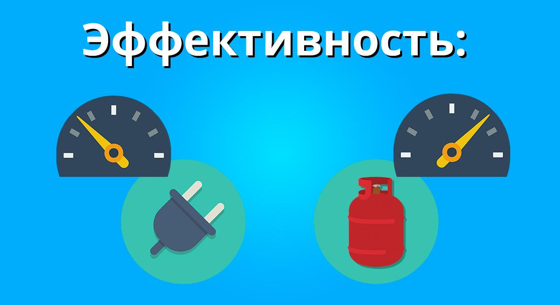 Эффективность автономного газа