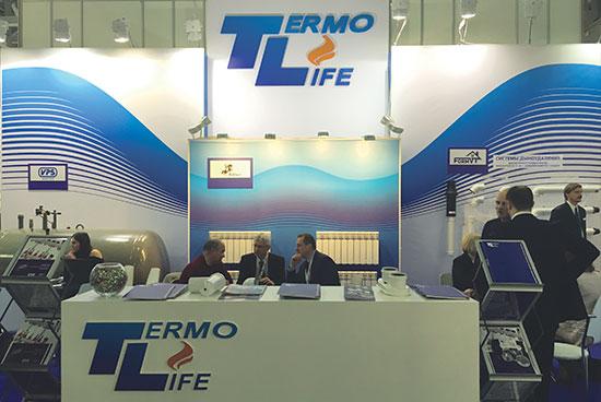 Термо лайф на выставке Aquatherm